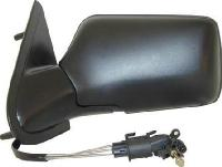 VW Golf MK3 [92-97] Complete Cable Adjust Mirror Unit - Black